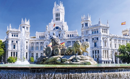 Madrid-Fontaine-Cibeles