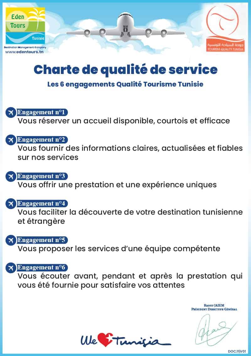 Charte qualité QTT